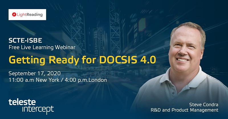 Webinar: Getting ready for DOCSIS 4.0
